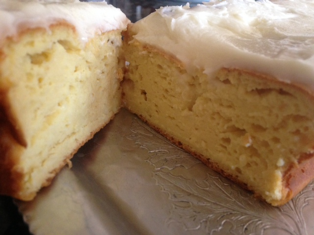 Copycat Starbuck S Lemon Pound Cake Loaf W Lemon Frosting From