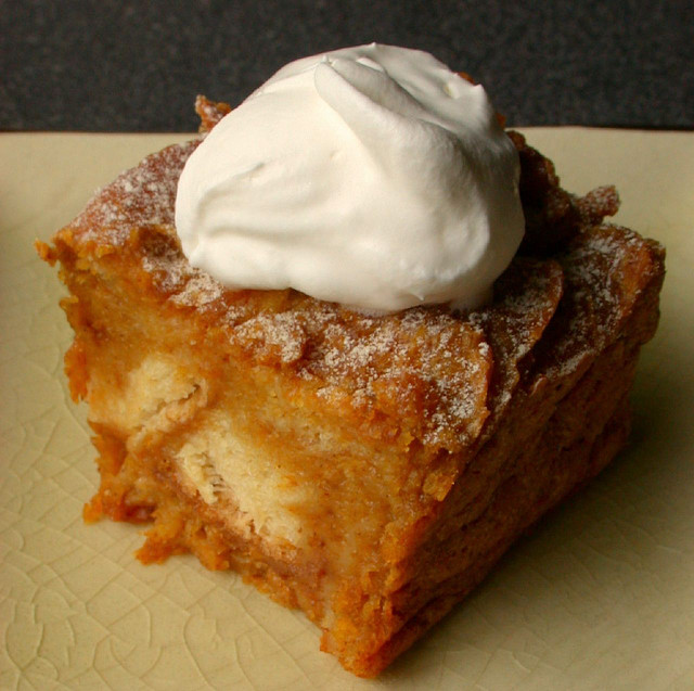 PUMPKIN BREAD PUDDING * dessert or breakfast ** - Seasonal and Holiday ...