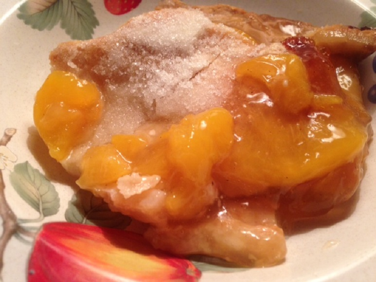 Southern PEACH COBBLER * sugar crunch top * with sugar or sugar-free ...