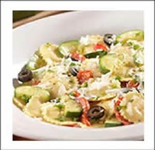 Olive Garden Cheese Ravioli With Fresh Vegetables Seasonal And Holiday Recipe Exchange